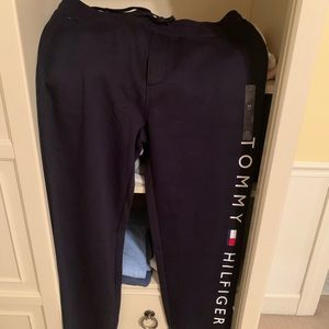 Dark Blue Men's Tommy Hilfiger Sweatpants